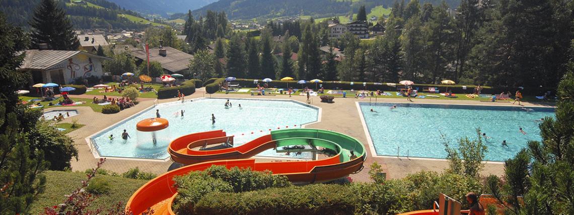 Ausflugsziele vom Hotel Das Urbisgut - Alpenschwimmbad Radstadt