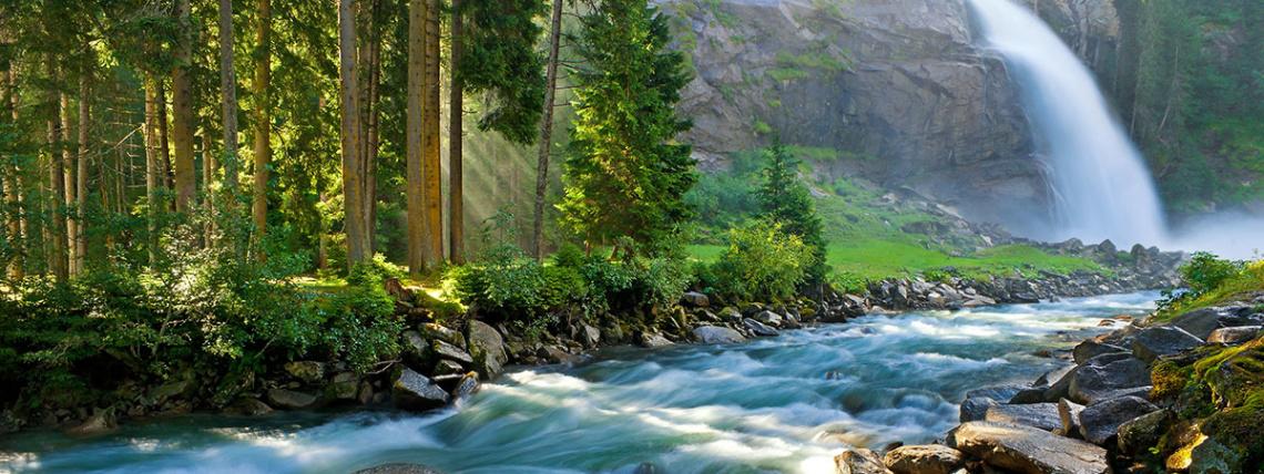 Ausflugsziele vom Hotel Das Urbisgut - Krimmler Wasserfälle