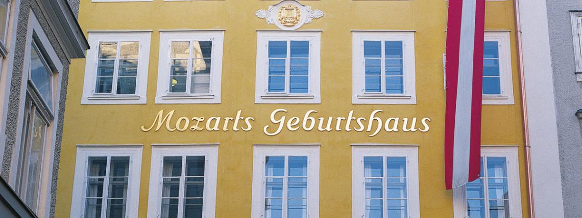 Ausflugsziele vom Hotel Das Urbisgut - Mozart Geburtshaus
