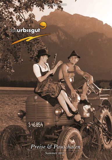Hotel Das Urbisgut - Sommerpreisliste 2015