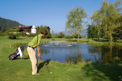 Golfplatz Radstadt - 3 km vom Urbisgut in Altenmarkt entfernt