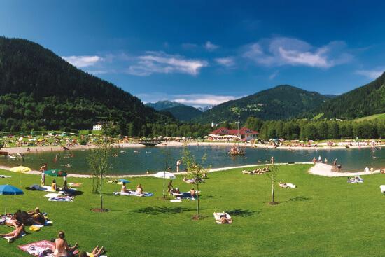 Sommerurlaub Salzburger Land - Badesee Eben