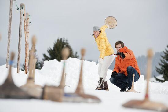 Winterurlaub in Altenmarkt - Zauchensee - Eisstockschießen