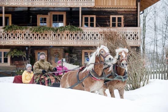 Winterurlaub in Altenmarkt - Zauchensee - Pferdeschlittenfahrten