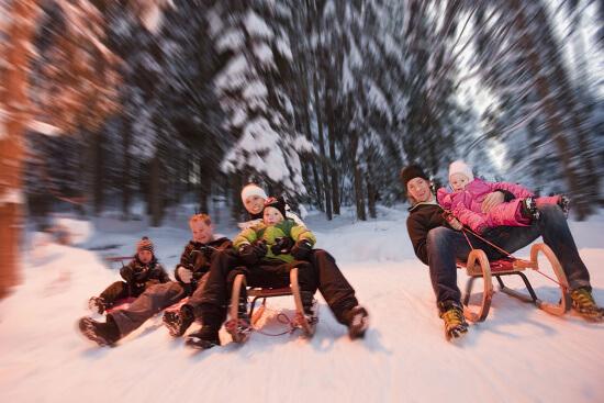 Winterurlaub in Altenmarkt - Zauchensee - Rodeln