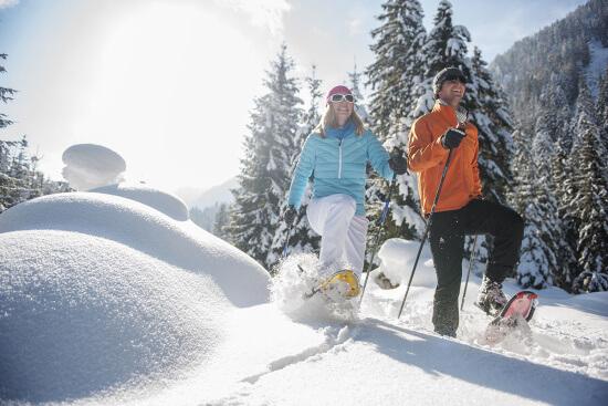 Winterurlaub in Altenmarkt - Zauchensee - Schneeschuhwandern