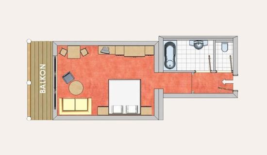 Zimmer in Altenmarkt - Hotel Das Urbisgut
