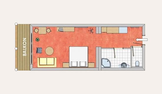 Hotel in Altenmarkt im Pongau - Zimmer